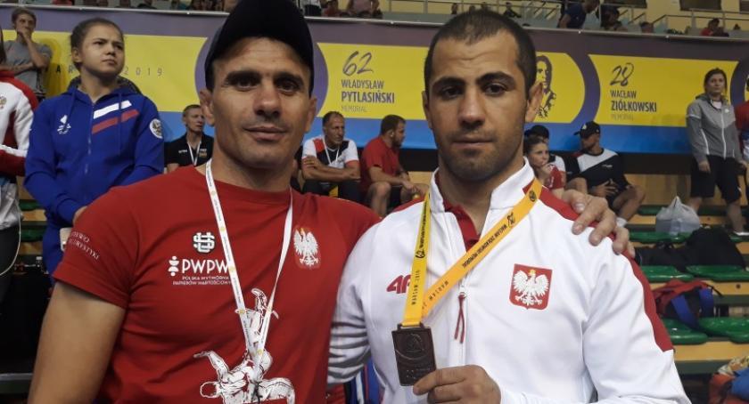 Sporty walki, Gevorg Sahakyan podium Memoriału Pytlasińskiego - zdjęcie, fotografia
