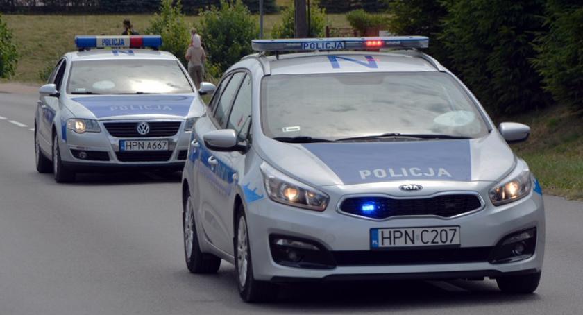 Kronika policyjna, nietrzeźwy wpływem amfetaminy Wjechał tunelu pieszych - zdjęcie, fotografia