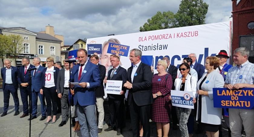 Wybory, Koalicja Obywatelska zaprezentowała kandydatów Sejmu Senatu - zdjęcie, fotografia