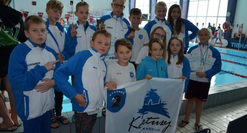 Pływanie, Sukces kartuskich pływaków ogólnopolskich zawodach Gdyni - zdjęcie, fotografia