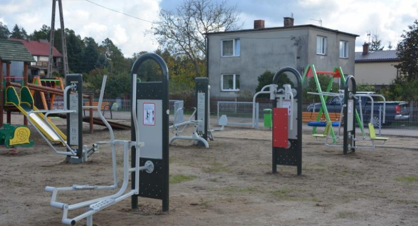 Inwestycje, Leźnie Chwaszczynie powstały Otwarte Strefy Aktywności - zdjęcie, fotografia