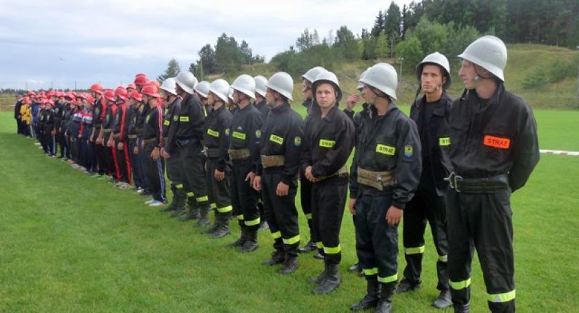 Straż pożarna, Druhowie Mściszewic najsprawniejszymi gminie Sulęczyno - zdjęcie, fotografia