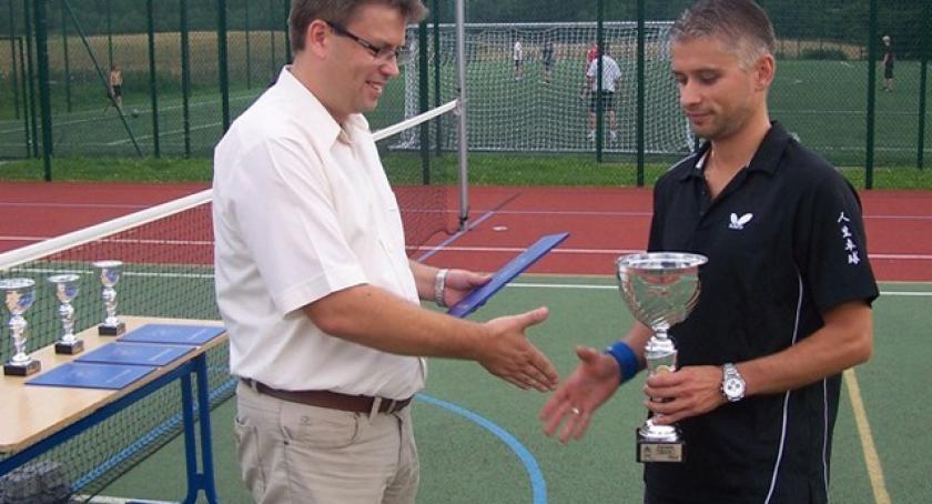 Tenis, Grzybno Rusza Turniej Tenisa Ziemnego - zdjęcie, fotografia