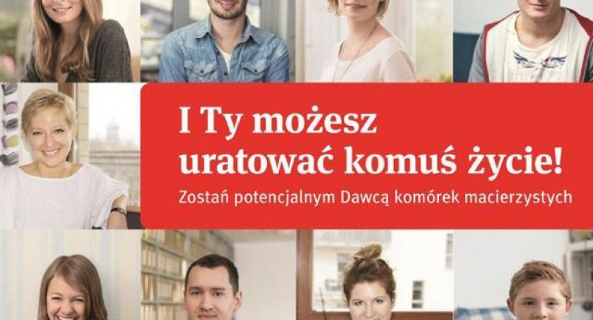 Akcje społeczne i charytatywne, Dzień Dawcy Szpiku Sierakowicach Zapisz daruj Komuś ŻYCIE! - zdjęcie, fotografia