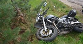 Kiełpino. Zderzenie motocykla z VW Passatem