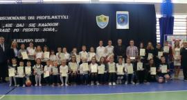 Kiełpino. Uczniowie mówili o uzależnieniach, profilaktyce i zdrowym odżywianiu