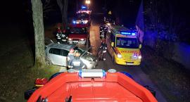 Wypadek w Załężu - trzy osoby w szpitalu. Sprawca pijany i na zakazie