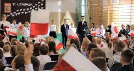 Święto Niepodległości w Szkole Podstawowej w Borkowie
