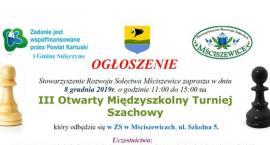 III Otwarty Międzyszkolny Turniej Szachowy w Mściszewicach