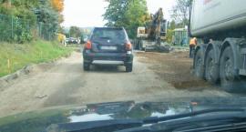 Remont drogi Kartuzy - Ręboszewo pod ostrzałem kierowców