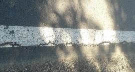 Kartuzy-Ręboszewo. Nie minął rok, a asfalt już pęka?