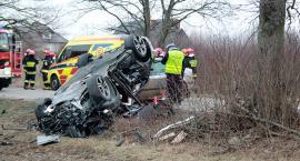 Tragiczny w skutkach wypadek pod Przodkowem - nie żyje 13-letni chłopak