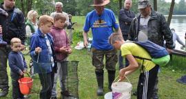 Pełen niespodzianek Piknik Wędkarski z okazji Dnia Dziecka