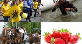 Weekend z bluesem, Zjazdem Kaszubów, festiwalem truskawek i triathlonem