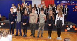 Lekcja patriotyzmu w Zespole Szkół w Gowidlinie