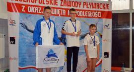Komplet medali dla pływaków Tropsa