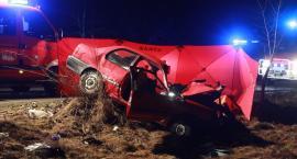 Tragiczny wypadek na trasie Prokowo-Kartuzy. Jedna osoba nie żyje