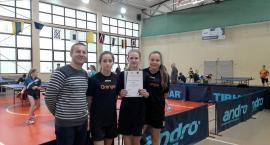 Młodzież z Kiełpina na piątym miejscu na Pomorzu w rywalizacji w tenisie stołowym