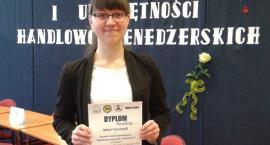 Ogólnopolski  sukces Marii Formella - uczennicy Technikum Ekonomicznego w Kartuzach