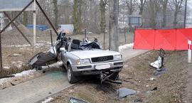 Wypadek w Lniskach - nie żyje młody mężczyzna