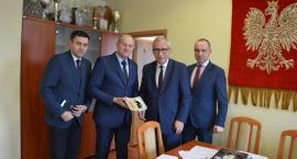 Wiceminister infrastruktury i budownictwa z wizytą w Żukowie