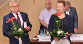 Marian Kowalewski i Emilia Radomska z medalami od Ministra Kultury