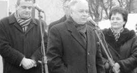 W Kartuzach pojawi się tablica upamiętniająca wizytę prezydenta Lecha Kaczyńskiego?