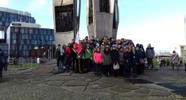 Uczniowie ZSP Przodkowo na obchodach stanu wojennego