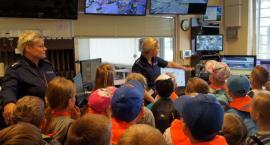 Kilkaset dzieci z całego powiatu podglądało pracę policji