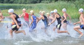 Najmłodsi również sprawdzili się na triathlonie w Chmielnie