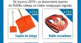 Sierakowice. Będą rozdawać nagrody za popiół dostarczony do PSZOKu