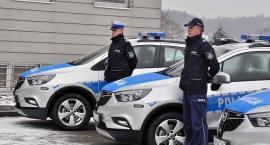 Nowe radiowozy dla policji - ich zakup był możliwy dzięki wsparciu samorządów