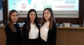 Alicja Leyk wygrywa indeks na konkursie z wiedzy o rachunkowości