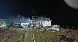 Egiertowo. Spłonął domek letniskowy - ofiarą pies