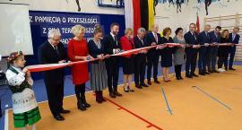 Miszewo. Uroczyste otwarcie sali gimnastycznej i inauguracja roku Jana Trepczyka
