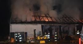 Zgorzałe. Spłonęła stodoła - możliwe podpalenie