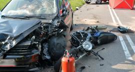 Śmiertelny wypadek na trasie Kamela-Przywidz. Nie żyje motocyklista