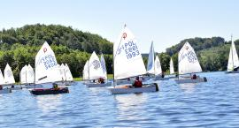 Ścigali się o Puchar Burmistrza Kartuz na wodach jeziora Brodno Wielkie
