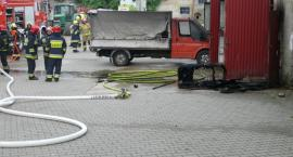 Kiełpino. Pożar garażu