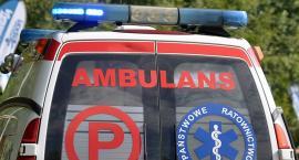 Wypadek w Mojuszu - jedna osoba w szpitalu