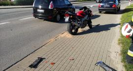 Wypadek w Chwaszczynie - jedna osoba w szpitalu