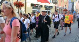 Z błogosławieństwem bp Kasyny pątnicy z Kaszub wyruszyli z Kościerzyny na Jasną Górę
