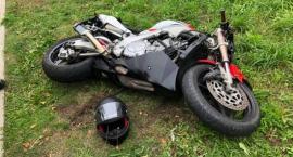 Motocyklista ranny w wypadku w Żukowie