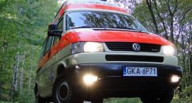 Dwie osoby ranne w wypadku w Sulęczynie