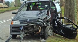 Wolniej na drodze! Wypadek w Miechucinie