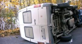 Wypadek na trasie Garcz - Sierakowice