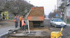 Remontowany odcinek ulicy Ceynowy zostanie wyłączony z ruchu