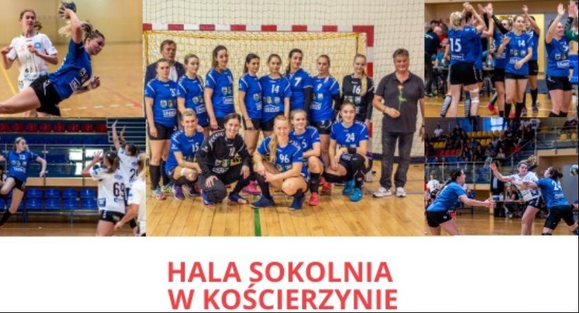 Piłka ręczna, eliminacyjny Pucharu Polski Piłki Ręcznej Kobiet Kościerzyna Sambor Tczew - zdjęcie, fotografia