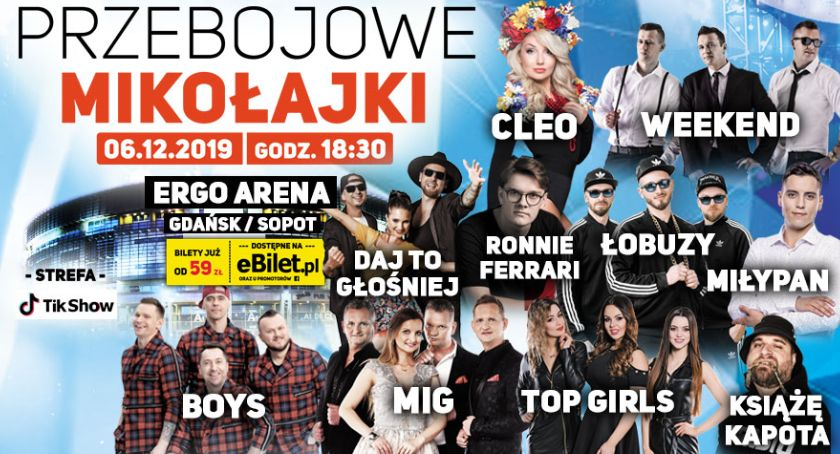 Imprezy, Przebojowe Mikołajki największymi gwiazdami - zdjęcie, fotografia