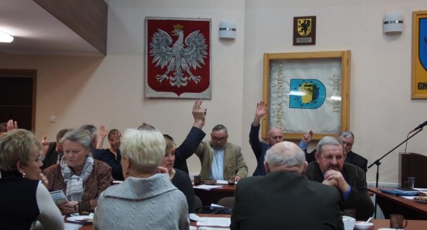 Wieści z samorządów, Liniewo Gmina występuje Związku Wierzyca - zdjęcie, fotografia